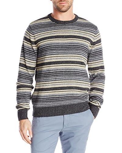 Dockers Men's Multi Stripe Crew Sweater