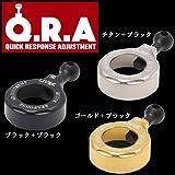 メガテック リブレ QRA 197タイプ(シマノ・オシアジガー2000~3000用) QRA197 ブラック+ブラック