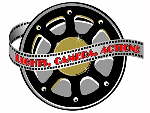 Hollywood Movie Reel Cutout [Toy]