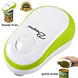 BangRui Automatic Can Opener Electric Smooth Touch Restaurant Can Opener (Green)