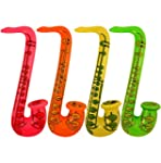 4 Inflatable Saxophones