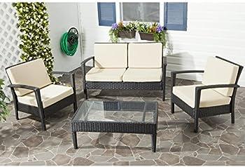 Mercury Row Cade 4-Piece Seating Set with Cushion