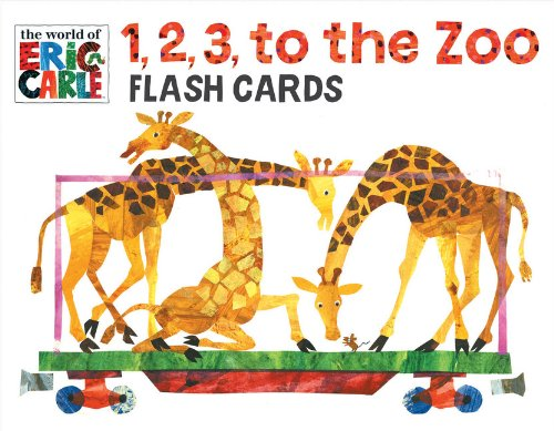 The World of Eric Carle™ 1, 2, 3, to the Zoo Flash Cards - Chronicle Books