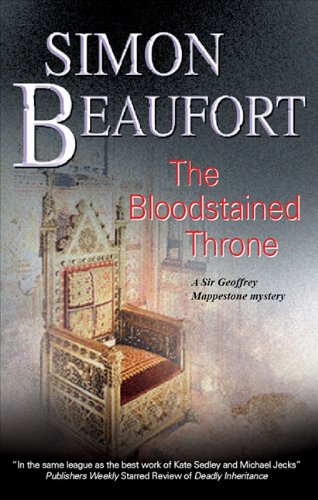 The Bloodstained Throne (Sir Geoffrey Mappestone Mysteries)