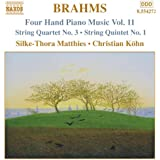 Brahms: Four-Hand Piano Music, Vol. 11