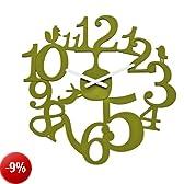orologio da muro pip verde