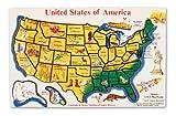 Melissa & Doug USA Map Wooden Puzzle (45 pcs)