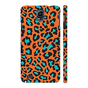 Enthopia Designer Hardshell Case Cheetah Print Back Cover for Samsung Galaxy Note 4