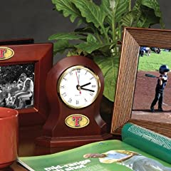 Memory Company MC-MLB-TRA-822 Texas Rangers Desk Clock by Memory Company