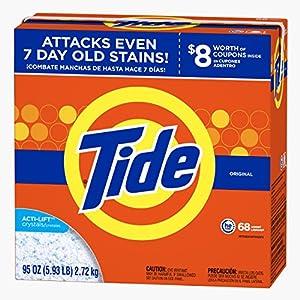 Tide Ultra He Original Scent Powder Laundry Detergent, 68 Loads