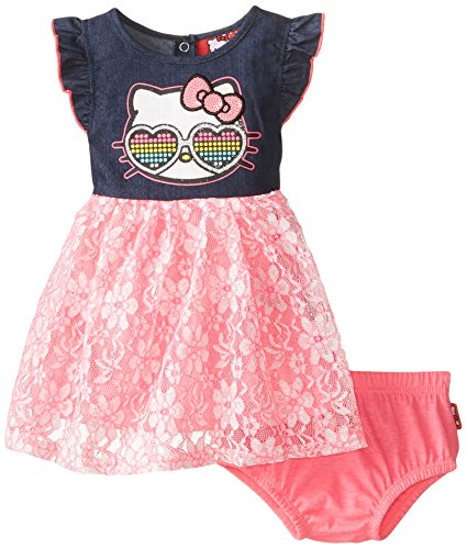 Hello Kitty Baby-Girls Infant Lace Dress