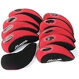 mizuno golf Iron Covers 10pcs/set black/red