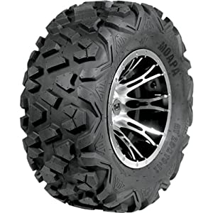 Douglas Wheel Moapa Run-Flat Utility Tire - 25x10x14 , Position: Front/Rear, Rim Size: 14, Tire Application: All-Terrain, Tire Size: 25x10x14, Tire Type: ATV/UTV, Tire Ply: 12 UT-281-12