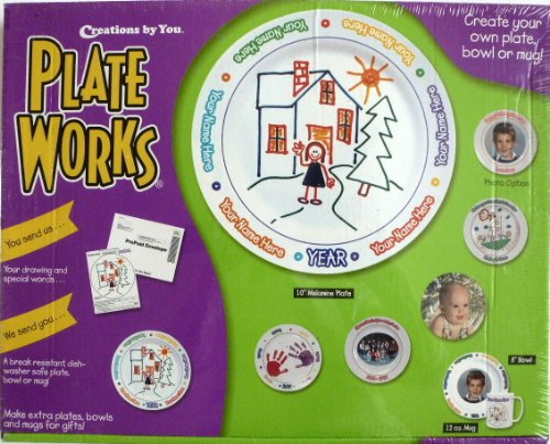 Creations by You Plate Works Kit. Made in USA - 1