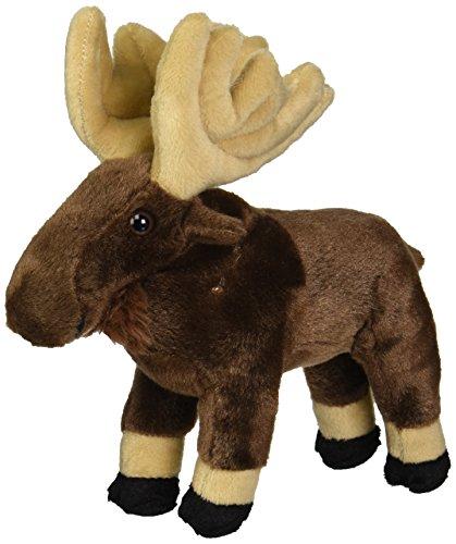 "Wild Republic CK-Mini Moose 8"" Animal Plush"