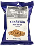 H.K. Anderson Pretzels, Mini Twist, 3.5 Ounce (Pack of 8)