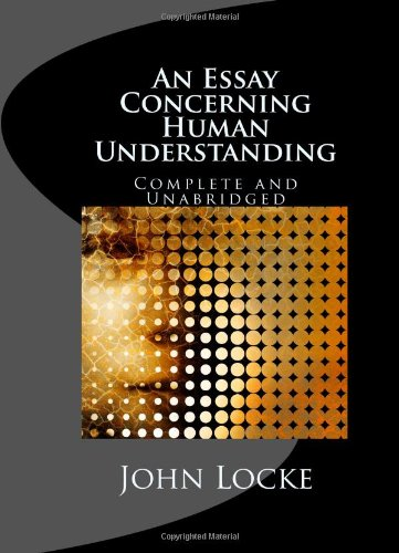 the essay concerning human understanding