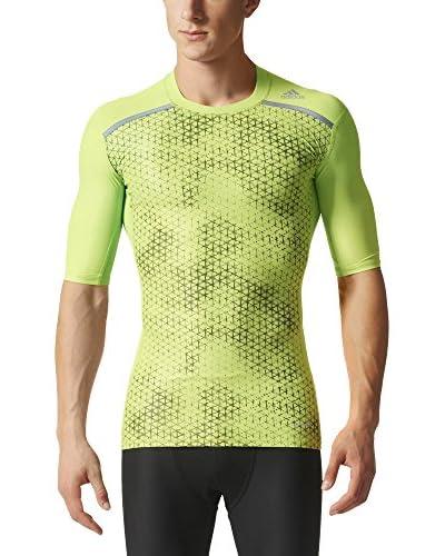 adidas T-Shirt TF Chill GFX SS grün/grau