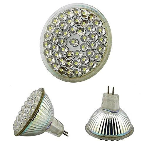 Everydaysource® Mr 16 Light Bulb, White [48Led 2.4W]