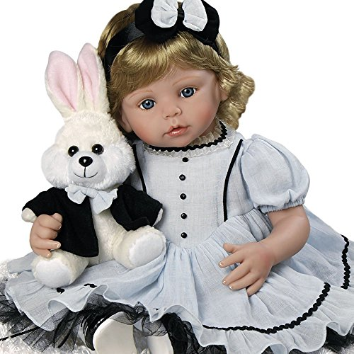 Paradise Galleries Realistic Lifelike Alice Doll - 22 inch Collectible Vinyl Toddler Doll