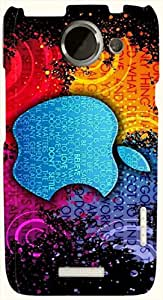 Significant multicolor printed protective REBEL mobile back cover for HTC One X+ ( X Plus ) D.No.N-L-14448-htcX