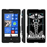 Nokia Lumia 635 Windows Phone Trust Me Slim Guard Protect Artistry Design Case by Mobiflare
