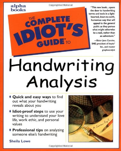 the-complete-idiots-guide-to-handwriting-analysis