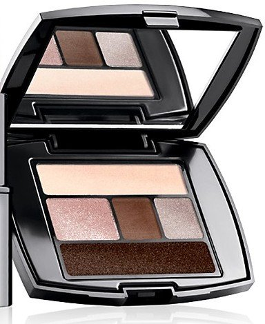 Lancome 100 Taupe Craze .07 oz / 2.g Promo Travel Size Color Design Eye Brightening All-in-one 5 Shadow, Liner Palette
