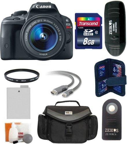 Canon EOS Rebel SL1 Digital SLR Camera with EF-S 18-55mm f/3.5-5.6 ...