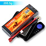 Floureon® 7.4V 5200mAh High Power 2S 30C Lipo RC Battery For RC Car RC Buggy RC Truck RC Truggy Wit