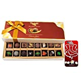 Chocholik Belgium Chocolates - Amazing Combination Of 8 Dark And 8 Milk Chocolate Box With 3d Mobile Cover For...