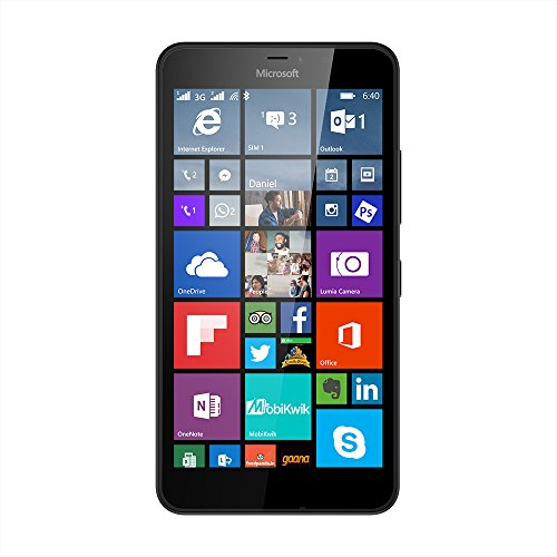 Microsoft Lumia 640 XL (Black, 8GB)
