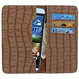 D.rD PU Leather Mobile case and cover with carry pouch and card holder for HTC 620