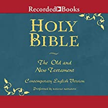 The Holy Bible: Old and New Testament Audiobook by  The American Bible Society Narrated by George Guidall, Suzanne Toren, Jonathan Davis, Peter Jay Fernandez, Pete Bradbury, Jeff Woodman, John McDonough, Nelson Runger