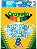 Crayola - Loisir Créatif - 8 Feutres À Colorier Lavables