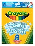 Crayola - 8 Broadline Washable Markers