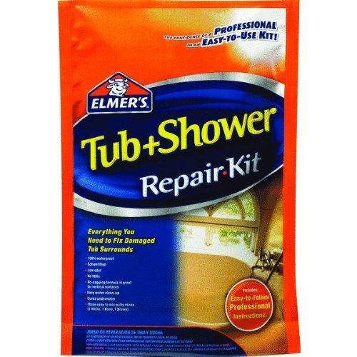 Elmers Prod E786 Fiberglass Tub And Shower Repair Kit