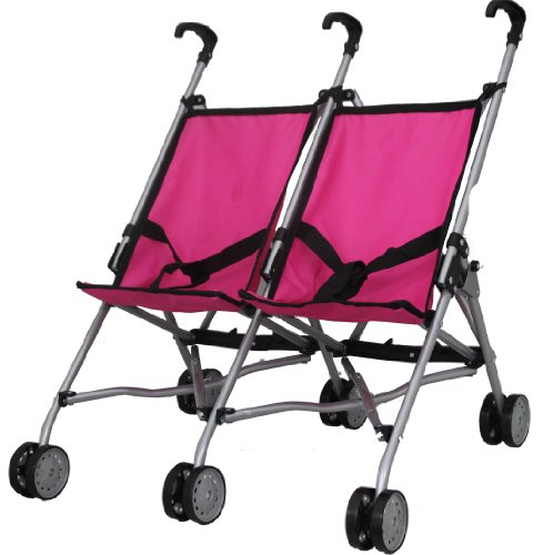 Mommy & Me Twin Doll Stroller S9313