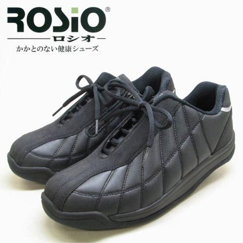 【かかとの無いウォーキングシューズ】ROSiO ロシオ RKK-02 (25.5cm)