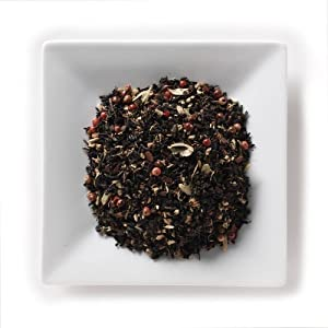 Mahamosa Black Chai Tea Loose Leaf Looseleaf - Spicy Darjeeling Chai Organic 2 Oz from Mahamosa
