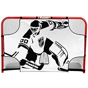 Franklin Sports NHL Championship Goal Shooting Target, 44-Inch x 54-Inch
