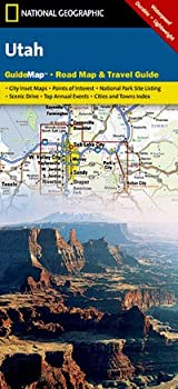 National Geographic Utah State Guide Map