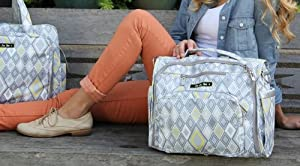 Ju-Ju-Be Diaper Bags and Accessories Collection - Silver Ice from Ju-Ju-Be