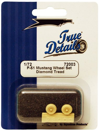 True Details TD72003 P-51 Mustang Wheel Set - 1