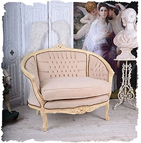 FRENCH SOFA VINTAGE CANAPE SHABBY CHIC ARMCHAIR Palazzo Exclusive