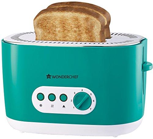 Wonderchef Regalia 930-Watt Toaster (Green)
