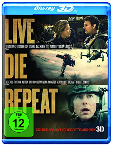 Edge of Tomorrow - Live.Die.Repeat [3D Blu-ray]