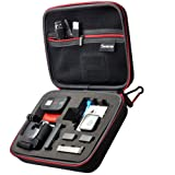 "Smatree® SmaCase G160 EVA Carrying and Travel Case (8.6"" X6.7"" X2.7"") with Foam for Gopro® HD Hero3+, 3, 2, 1 Camera camcorder and Essential Accessories - Black"