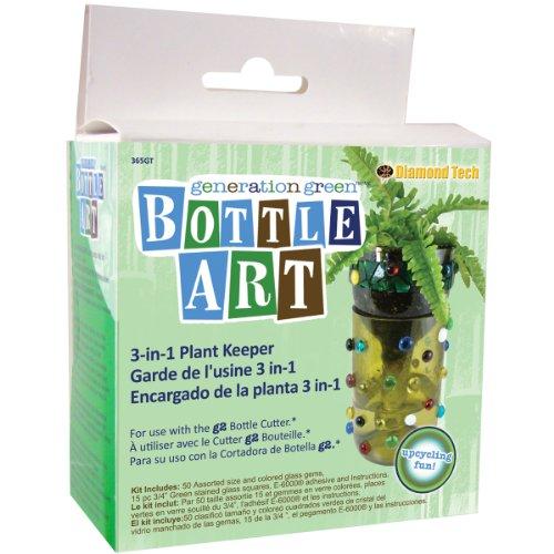 Generation Green Bottle Art 3-In-1 Plant Keeper Kit