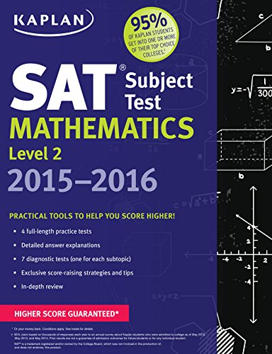 Kaplan SAT Subject Test Mathematics Level 2 2015-2016 (Kaplan Test Prep)